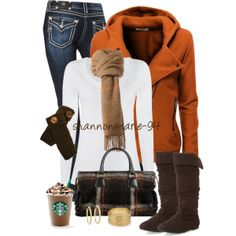 A Fall Bag, created by shannonmarie-94 on Polyvore