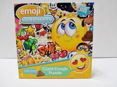 Giant Emojis Puzzle - 1000 Pieces - 24 X 18 - Emoji Fun Puzzle - From Cardinal #Cardinal..... Visit all of our online locations..... www.stores.ebay.com/ourfamilygeneralstore ..... www.bonanza.com/booths/Family_General_Store ..... www.facebook.com/OurFamilyGeneralStore