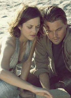 Leonardo DiCaprio & Marion Cotillard in Inception (2010)
