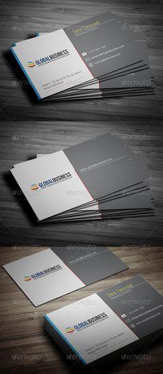 Corporate Business Card 24