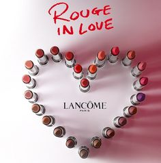 #lancome #rougeinlove