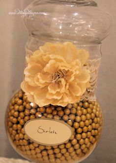 Gold Candy Buffet | Candy buffet, gold, ivory | candy bars
