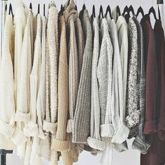 My dream closet of cardigans