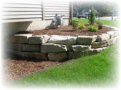 Autumn Ridge Stone - Natural Stone Retaining Walls