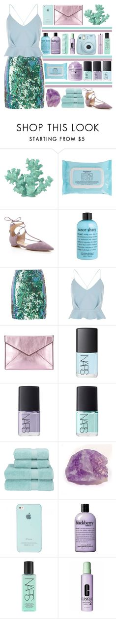 """""""Ariel"""" by vansousa ❤ liked on Polyvore featuring Sonoma life + style, Napoleon Perdis, Ivanka Trump, philosophy, Kilian Kerner Senses, River Island, Rebecca Minkoff, NARS Cosmetics, Christy and Clinique"""