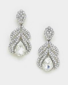 Type of earrings that I was looking for for the wedding