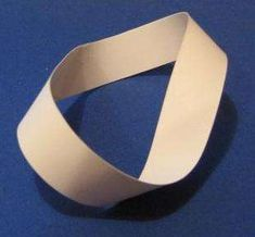 Mobius Strip: A Mobius strip is one of those interesting things for which there is little use other than starting an argument :-) You need - paper (ideally construction or other thick paper) - scissors - ruler It should take about 10 minutes. Zeno Of Elea, Max Bill, Bristol Board, Organiser Box, Space And Astronomy, Science And Nature, Paper Cutting, Galaxies, Organization