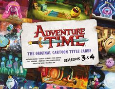 COMIC BITS ONLINE: Titan Books: adventure time the original cartoon ...