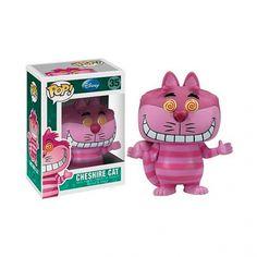 Tout droit sorti du monde merveilleux et fantastique d'Alice au pays des Merveilles, le chat du Cheshire est un félin de petite taille tout rose et complètement fou ! Cette figurine POP Disney le représente avec un grand sourire et des yeux en tourbillon, comme pour vous entourlouper ! Laissez-vous enchanter par cette figurine rose bonbon, mignonne et totalement fun.
