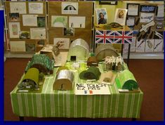 Anderson shelters World War 2 classroom display photo - Photo gallery - SparkleBox