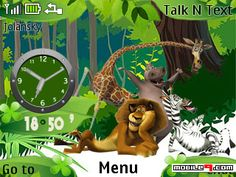 #MADAGASCAR theme for Nokia C3, X2-01, Asha 200 and Asha 201  http://m9.my/go/stc-madagascar