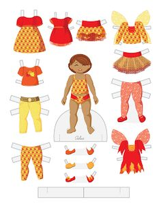 Paper Doll School: Halloween Toddler Fashion Friday - Ailsa