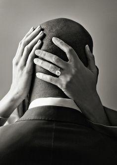 THE KISS. Sensual, intimate, unique wedding photo idea. So simple, yet so strong. #WeddingPhotos #WeddingPhotography