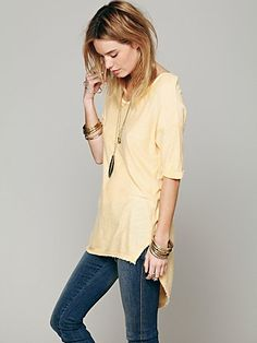 FREE PEOPLE Lost and Found Tee