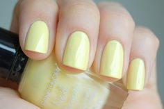 Swatches of Kleancolor – Pastels Collection Yellow Aesthetic Pastel, Aesthetic Colors, Pastel Yellow, Pedicure Designs, Diy Nail Designs, Diy Nails, Manicure, Yellow Nail Polish, Summer Colors