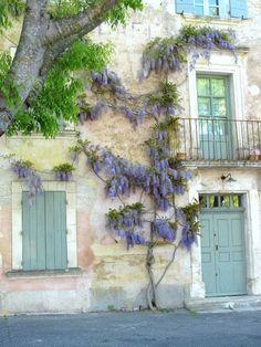 France balcony shutters