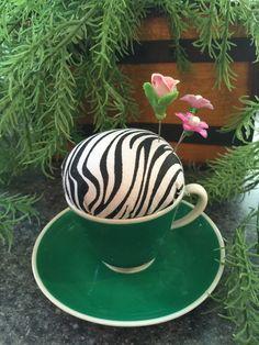 Zebra Print Pincushion