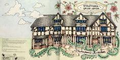 Escape To Shakespeare World. WHSmith pencils.