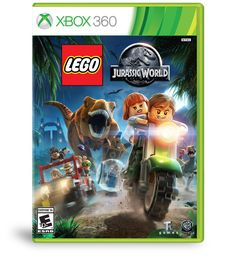 Xbox games: LEGO Jurassic World - Xbox 360 Standard Edition   Relive key moments from all four Jurassic films: An adventure 65 million years in the making - now in classic LEGO brick fun!
