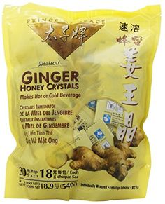 Best Ginger Tea with Honey Crystals 30 bags *** Check this awesome product by going to the link at the image.