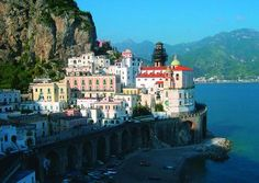 I visited the Amalfi Coast of Italy when I was 13 on a very special, romantic mother-daughter vacation. We visited Venice and Capri as well, but Amalfi melted my  heart