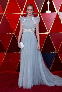 Emily Blunt Red Carpet Dress