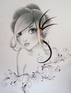 Beautiful illustrations by Sophie