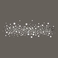 Motivstempel 'Sternenhimmel'