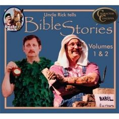 Uncle Rick Tells Bible Stories Collection - Volumes 1 and 2 CD's  $24