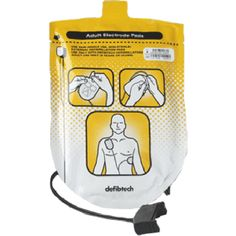 This package contains one pair of adult defibrillation pads for use with the Lifeline AED and the Lifeline AUTO. These pads are for adult use only years or older). Pads should be stored connected to the AED. Extra pads can be Security Assessment, Evaluation, Interior Design Living Room, Lunch Box, Packaging, Adhesive, Cable, Shelf Life, Product Design