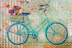"""""""Charleston Bike"""" 24x36 Atelier Gallery, Charleston (843) 722-5668"""