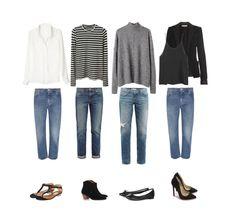 Four jean looks : Minimal + Classic