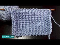 """Punto """"Mas fácil imposible"""". Tejido con dos agujas (palillos) # 756 - YouTube Knitting Videos, Knitting Stitches, Baby Knitting, Tutorial, Crochet Top, Youtube, Lettering, Sewing, Kids"""