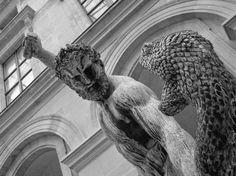 François-Joseph Bosio (1769-1845) | Hercules fighting Achelous | 1824 | Bronze | Musée du Louvre | Paris (France)