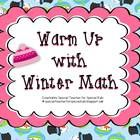February Winter Math Fun! (Aligned with Common Core) Students will enjoy reinforcing their math skills with this addition and subtraction winter math freebie. They will have a good time, matching and identifying their numbers using base ten pictures.