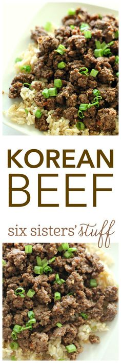20 Minute Korean Beef on SixSistersStuff.com