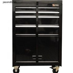 Rolling Tool Chest 22 In Combo Cabinet Bottom Storage Shop Box Cart 4 Drawers Tool Organization, Tool Storage, Garage Storage, Storage Spaces, Locker Storage, Dewalt Storage, Utility Cabinets, Garage Cabinets, Tool Box Cabinet