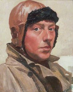 Self Portrait, CF Tunnicliffe