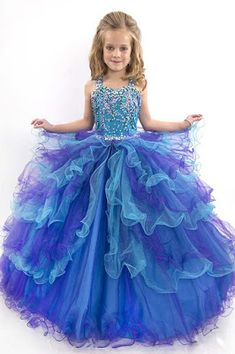 Vestidos de fiesta de niña ¡19 Lindas opciones con imágenes! | 101 Vestidos de Moda | 2017 - 2018