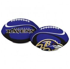 "Baltimore Ravens ""Goal Line"" 8"" Softee Football by The Licenced Products Co.. $13.98. 8-inch football. This soft polyester filled 8-inch football is safe to throw around indoors or out and features bright team primary colors."