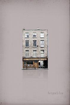 Brogans Pub Graphic Illustration, Graphic Art, Graphic Design, Illustrations, Travel Around The World, Travel Inspiration, Photo Wall, Infographics, Irish