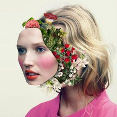 We've gathered our favorite ideas for Flowerful Portraits By Marcelo Monreal, Explore our list of popular images of Flowerful Portraits By Marcelo Monreal in photoshop collage flowers. Collages, Surreal Collage, Collage Artists, Face Collage, Photoshop Projects, Photoshop Ideas, Ghost In The Machine, Flower Collage, Portraits