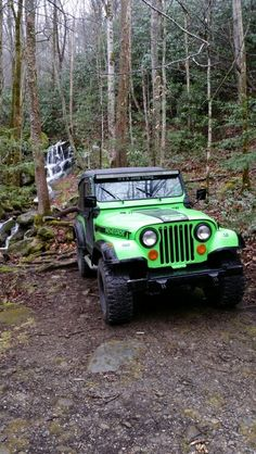 Our 78 CJ 7 in the Smokies