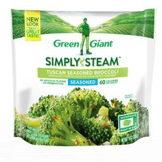 MON Kroger - Green Giant Seasoned Steamers Tuscan Broccoli Frozen Vegetables, 11 oz Steamed Vegetables, Frozen Vegetables, Honeymoon Packing, Cooking Recipes, Yummy Food, Steamers, Green, Stage
