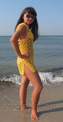 Crochet a swimsuit cover up dress with free pattern homesteading summer tunics blog free pattern crochet patterns projects dt1010fo