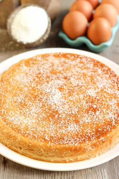 Flan coco rapide au caramel - New Ideas Desserts With Biscuits, Ww Desserts, Foie Gras, Caramel, Cheesecakes, Fondant, Vanilla Cake, Mousse, Food And Drink