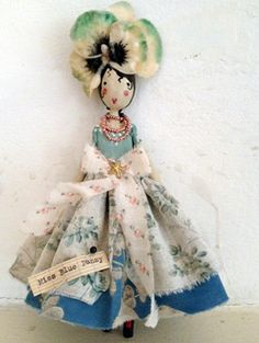 Fairy Miss Blue Pansy... by Sam McKechnie of The Magpie and the Wardrobe {London}