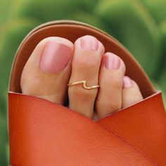 Cute Toe Nails, Cute Toes, Simple Toe Nails, Pretty Nails, Evil Eye Ring, Evil Eye Necklace, Toe Ring Tattoos, Starfish Ring, Hippie Chic Fashion