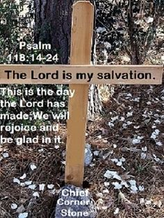 GOD Morning from Trinity, TX Today is Tuesday April 6, 2021 Day 96 on the 2021 Journey Make It A Great Day, Everyday! The Lord Is My Salvation! Scripture: Psalm 118:14-24 The Lord is my strength and song, And He has become my salvation. The voice of rejoicing and salvation Is in the tents of the righteous; The right hand of the Lord does valiantly. The right hand of the Lord is exalted; The right hand of the Lord does valiantly. I shall not die, but live, And declare the works of The Lord.
