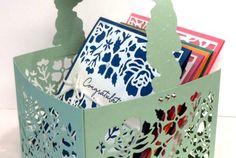 Detailed Floral Thinlits Box Tutorial (Flowerbug's Inkspot)